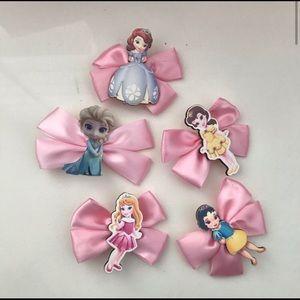 Princess Pink Cute Bows